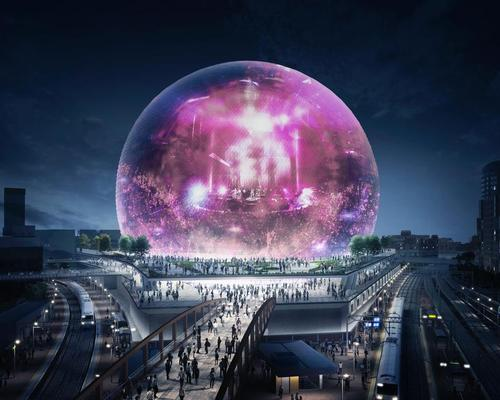 The Sphere will have a programmable exterior that can serve as a digital showcase for brands, artists, events and partners / MSG