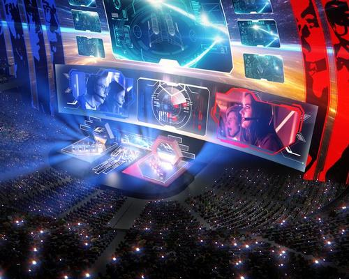Major esports fixtures could be hosted at the Sphere, with architects Populous specialists in designing for the emerging sports entertainment sector / MSG