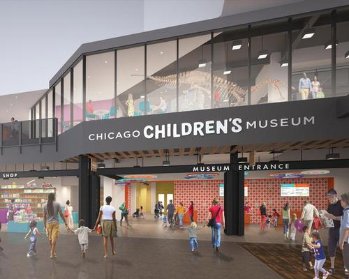 Work on the redevelopment started in the third quarter of last year. The museum has pencilled in June this year for its grand reopening / Krueck+Sexton Architects