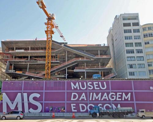 Construction has been slow on the museum since 2014 / Wikimedia Commons