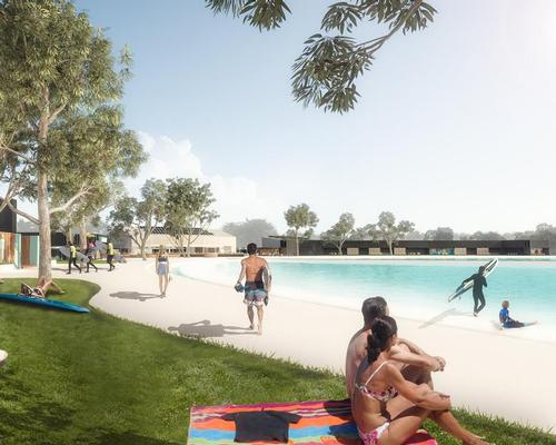 Described as a sports, leisure and entertainment facility, Urbnsurf Melbourne will be centered around the surfing lagoon / Urbnsurf Melbourne
