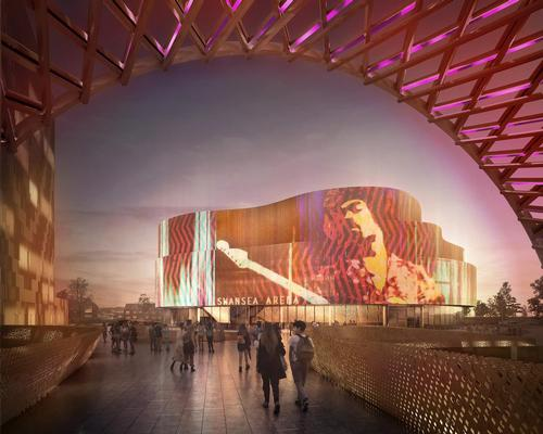 Architecture practice ACME are designing the 8,825sq m (95,000sq ft) building, which will host concerts, exhibitions, theatrical events and conferences / ACME