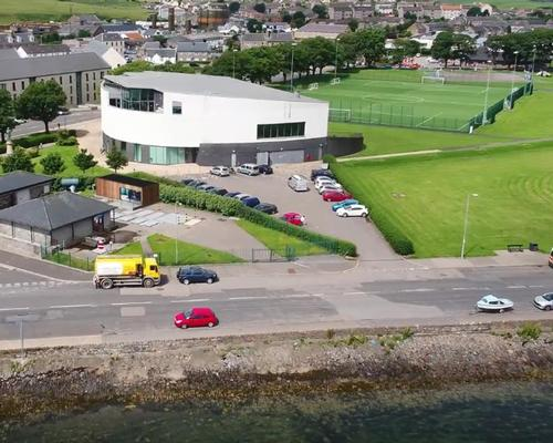 Scottish leisure centre heated by waste water described as 'forefront of renewable energy revolution'