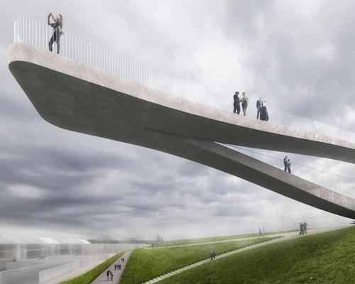 The Dutch municipality of Den Helder has today (12 April) announced MVRDV as the winners in a competition to design a new public installation / MVRDV