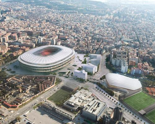 FC Barcelona plans to create a vibrant district dedicated to the club and its brand around a redeveloped Camp Nou stadium / FC Barcelona