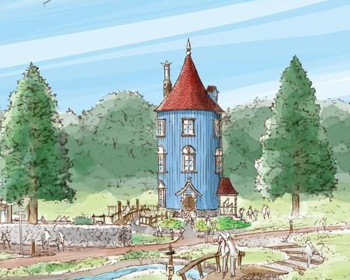 Called Moomin Valley Park, the attraction will sit on an area around Lake Miyazawako, owing to the area's resemblance to the nature-rich homeland of the Moomins