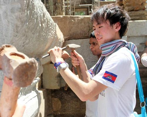 To date, Unesco's World Heritage Volunteers Initiative has seen more than 3,500 people take part in 359 action camps / Unesco