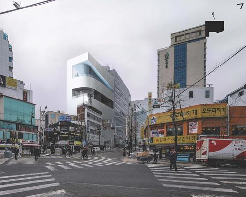 Design unveiled for cinema centre in Seoul's movie district