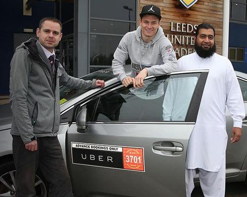 Leeds United signs partnership with Uber
