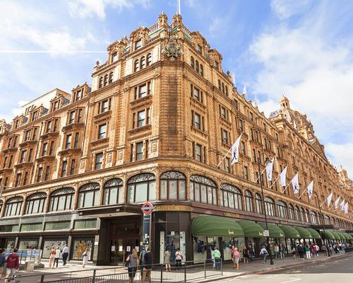 Urban Retreat leaves Harrods