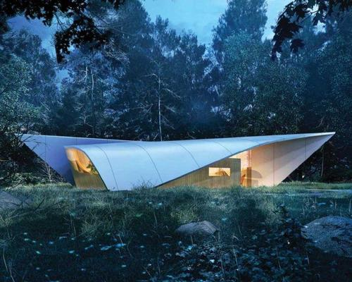 Christian de Portzamparc designed the 'Sails House' for the company / Revolution Precrafted
