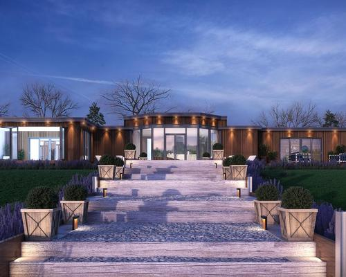 The spa is designed to create a relaxing wellness haven for its guests