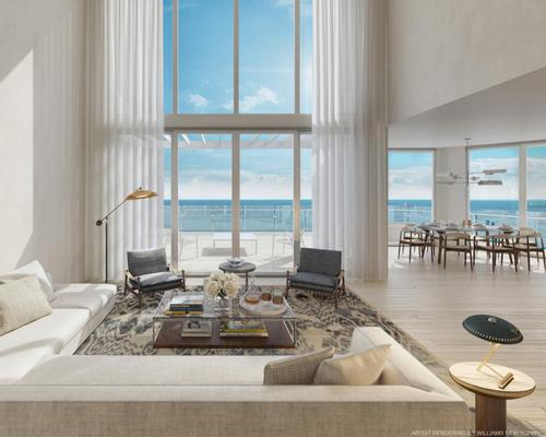 Real estate firm Fort Partners has developed the project, situated on Fort Lauderdale Beach Boulevard / Four Seasons Hotel and Private Residences Fort Lauderdale