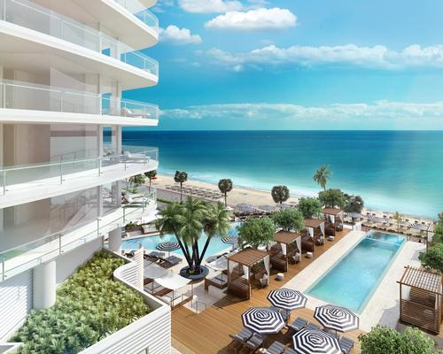 The 22-storey Four Seasons Hotel and Private Residences Fort Lauderdale has been planned by Miami architect Kobi Karp / Four Seasons Hotel and Private Residences Fort Lauderdale