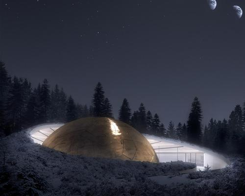 The visitor experience, which will accommodate up to 118 guests, will be 'an intellectual, visual and tactile journey into the realm of astronomy,' Snøhetta claimed in a statement / Snøhetta