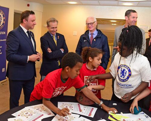 Chelsea FC joins forces with San Francisco 49ers for educational programme for children