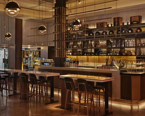 Vintage radio and Spanish surrealism inspire design of Hyatt Centric Madrid hotel