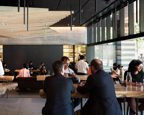 Described by chef Corey Lee as a 'culinary museum', the restaurant replicates 100 iconic dishes made famous from top chefs around the world over two decades / Aidlin Darling Design