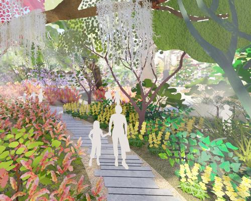 The firm have released details of 'Botanic Beginnings', the first phase of their 120-acre masterplan for the site / West 8