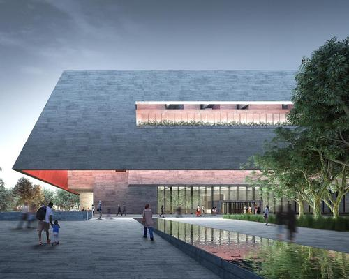 The design created by Adjaye Associates and BVN / Individual teams/Malcolm Reading Consultants