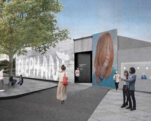Former petrol station to become arts space in London's White City