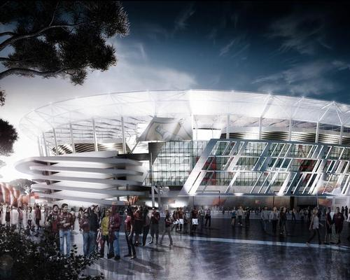 Architect Dan Meis explains how AS Roma's new stadium will celebrate the Colosseum