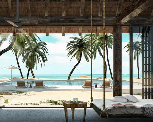 Design firm Studio Caban have planned 100 guest rooms and suites, including a collection of overwater bungalows / Four Seasons Hotels and Resorts