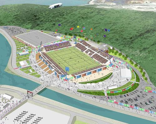 The 16,000-capacity Kamaishi Recovery Memorial Stadium in Iwate Prefecture will host two fixtures at next year's tournament / Kamaishi Recovery Memorial Stadium/Iwate Prefecture