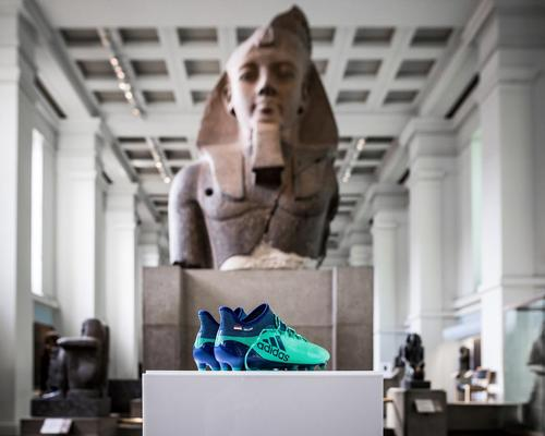 Mo Salah's boots go on display at British Museum