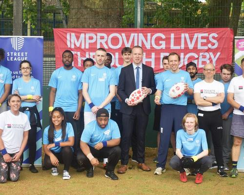 Street League adds rugby to sports employability programme