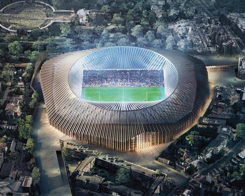 Herzog & de Meuron designed the 60,000-capacity stadium, which has been scrapped for the time being / Herzog & de Meuron