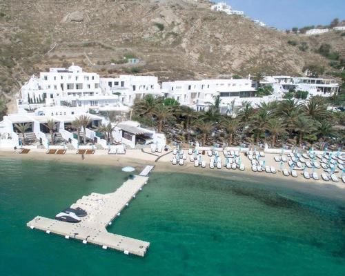 Mykonos spa includes menu for yacht spa treatments
