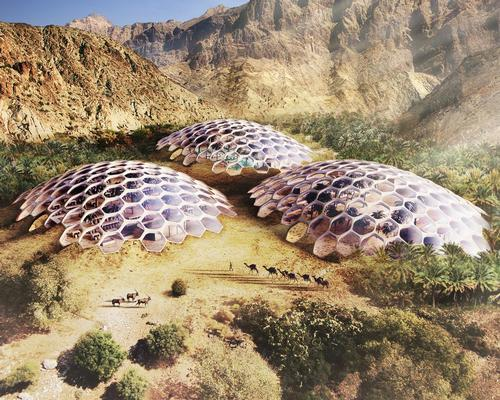 The project will provide facilities for a wildlife conservation centre, a restaurant, educational workshops and an adventure-based wilderness retreat / Baharash Architecture