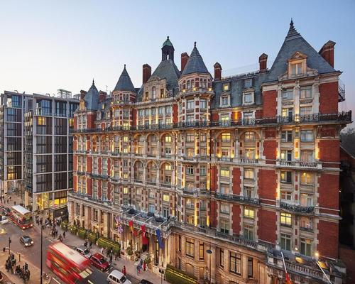 London's Mandarin Oriental hotel hit by fire