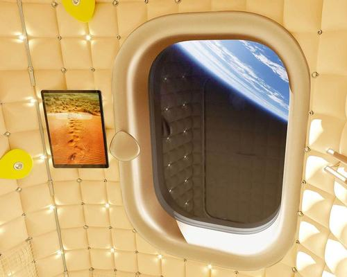 Starck was asked by Axiom to create interiors of the habitation module for the Axiom Space Station / Starck Network