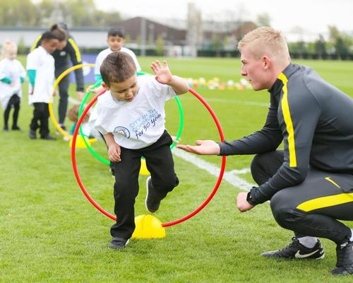 Manchester City FC opens its facilities to kids during Active Uprising