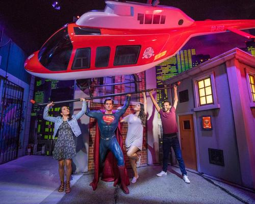 Superman is the first Madame Tussauds figure that can really move