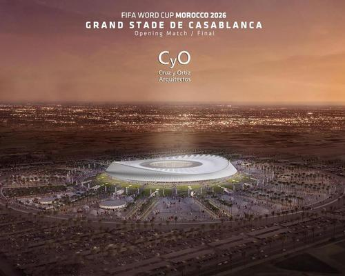 Architects Cruz y Ortiz reveal stadium design for Morocco's 2026 World Cup bid