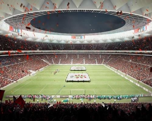 The Grand Stade de Casablanca would have a capacity of 90,000 if built / Cruz y Ortiz