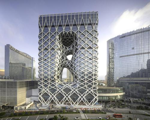Zaha Hadid Architects' sculptural Morpheus hotel opens in Macau on Friday