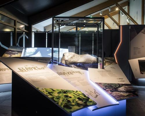 The exhibition offers multiple interactive experiences / Kvorning Design & Communication