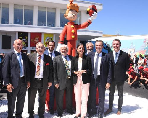 Spirou theme park opens in southern France