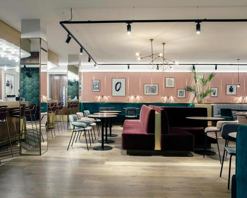 21 Spaces complete 'playful' redesign of Dublin's historic Alex hotel