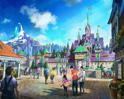 Guests can explore the kingdom of Arendelle, which will feature the boat ride attraction