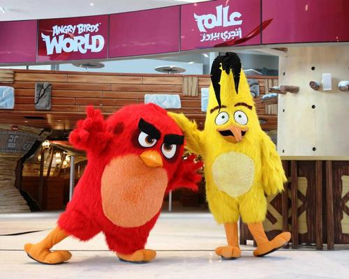 Angry Birds World opens in Qatar's capital