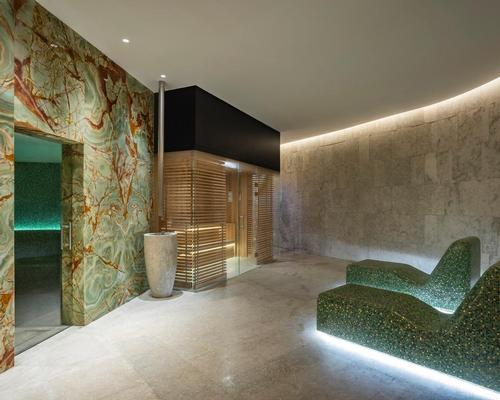 The extensive spa features five single treatment rooms, a double treatment room, a foot massage room and a couples' spa suite that provides exclusive access to a Roman-inspired hot tub and private sauna