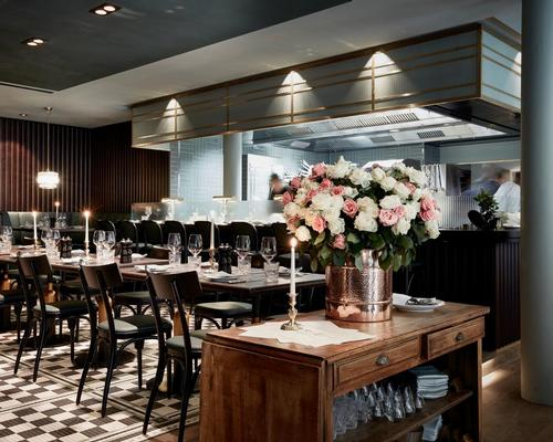 Joyce Wang has designed the hotel's restaurant / Design Hotels