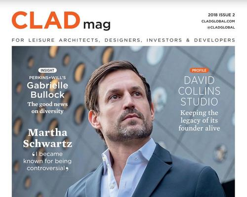 Out now - the latest issue of CLADmag, with Ole Scheeren, Matto Thun, Gabrielle Bullock and David Collins Studio