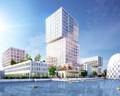 Construction begins on MVRDV's mixed-use masterplan for Hamburg Innovation Port