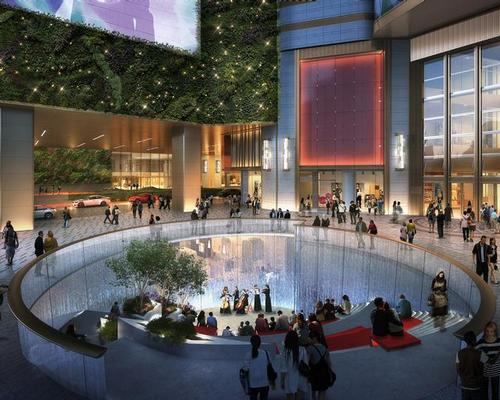 There will be a Sunken Plaza for cultural events, such as film festivals / K11